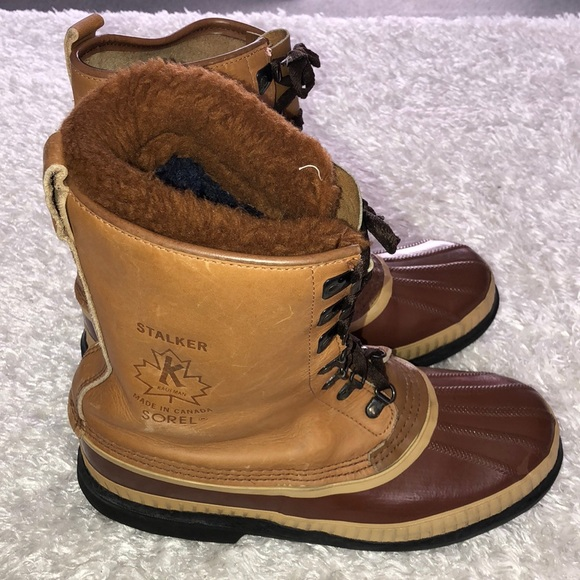 🔻Sorel Stalker Kaufman Trek Boot Made In Canada